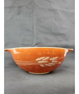 Pyrex/Corning Ware 4 QT. (444) mixing bowl Autumn Harvest Wheat pattern ... - $9.99