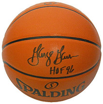 George Gervin signed Spalding NBA Game Series Replica Indoor/Outdoor Bas... - $98.95
