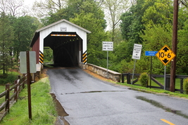 Untitled Covered Bridge 13 x 19 Unmatted photograph - $35.00
