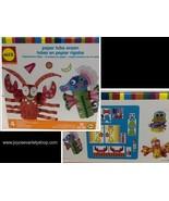 ALEX Paper Tube Ocean Sea Creatures 183 Piece Kit Ages 3+ - $8.99