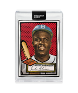 Topps PROJECT 2020 Card 98 - 1952 Jackie Robinson by Joshua Vides - $34.64