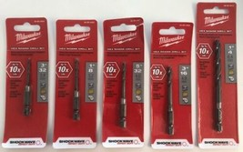 Milwaukee 48-89-4403-13 5pc Shockwave Drill Bit Set - $7.92