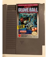Nintendo NES Video Game Super Glove Ball Cleaned  & Tested Free Ship Aut... - $9.49