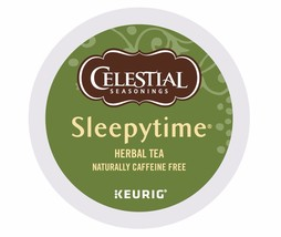 Celestial Seasonings Sleepytime Herbal Tea 48 count Keurig K cups FREE S... - $38.99