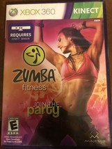 Zumba Fitness Core (Microsoft Xbox 360, 2010) Complete with Manual - $4.80