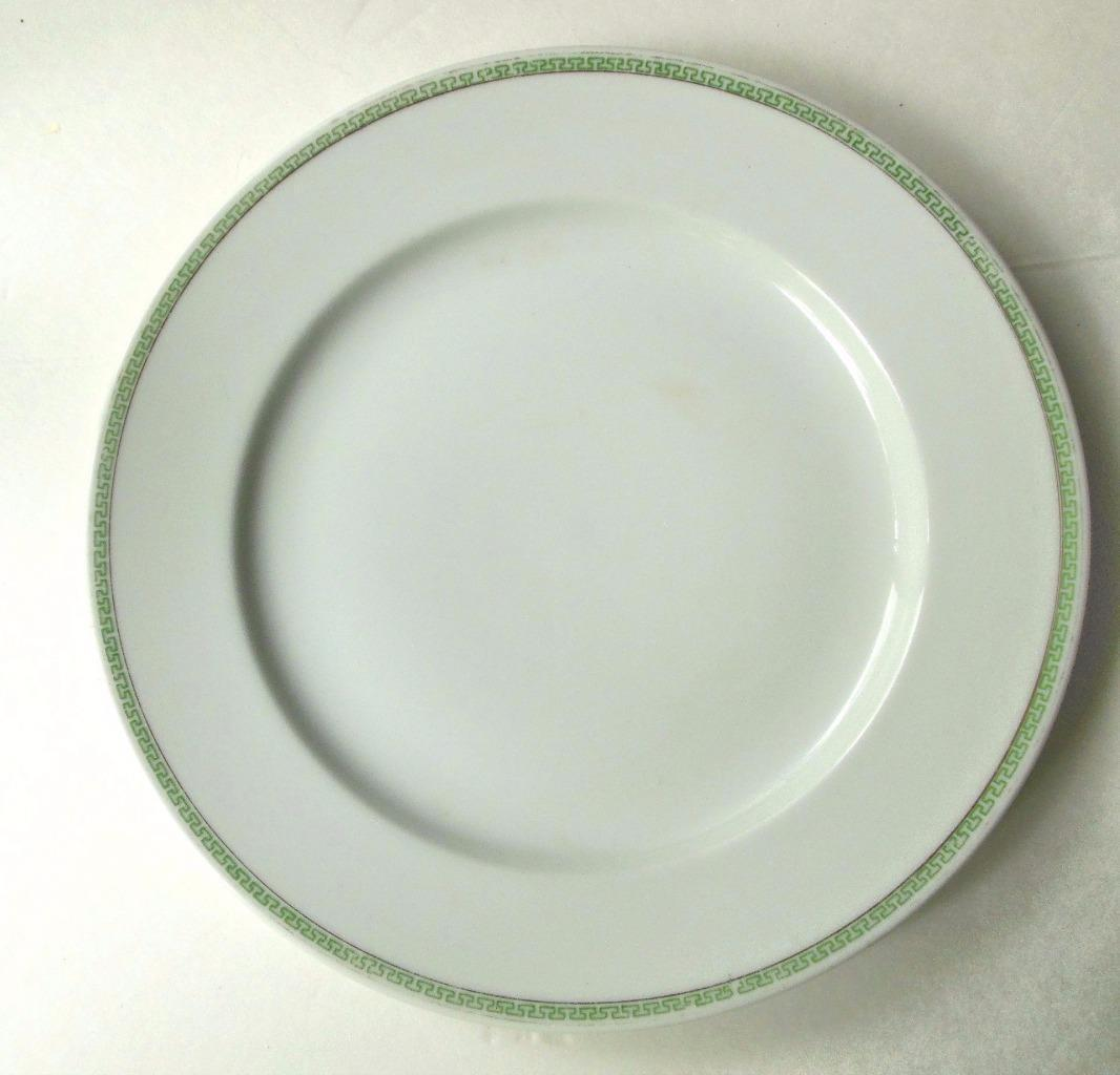 "Vintage N & Co Nagoya Shokai Nippon Greek Key 10"" Dinner Plate - $14.00"