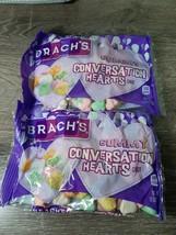 2 Packs of Brach's Gummy Conversation Hearts Valentine Candy, 10 oz bags - $13.67