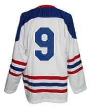 Custom Name # Citadelle Quebec Retro Hockey Jersey Sewn New White Any Size image 5