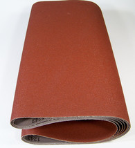 "5pc 18"" x 44"" P 50 GRIT SANDING BELT / ROLL Made in USA Butt Joint A/O 4... - $39.99"