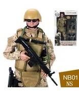 Desert Camo Ultra Detailed Military Combat Action Figure - $19.99