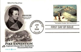 FDC POSTCARD-PIKE EXPEDITION - 2006  ARTCARFT CACHET  BK17 - $1.96