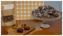 Greek Handmade Sweet Dessert Baklava Bites With Almond & Topping Chocolate 1500g - $44.53