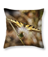 Swallowtail Butterfly, Throw Pillow, seat cushi... - $41.99 - $69.99