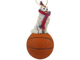 Samoyed Basketball Ornament - $17.99