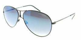 Carrera 4/S Semi Matte Black / Blue Sunglasses 4/S PDE - $97.51
