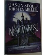 NIGHTMARES! by Jason Segel, Kirsten Miller, Scholastic paperback 2015 - $7.99