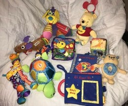 Lamaze Baby Toys Turtle Developmental Musical Giraffe Dog Moose Book Dis... - $31.67