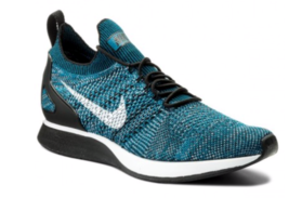 Nike Air Zoom Mariah Flyknit Mens Sneakers Size 12 Green Abyss/Black-Cir... - $74.37