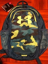 NEW Under Armour Scrimmage Storm Backpack Teal Rush Camo Water Repl New - $39.58
