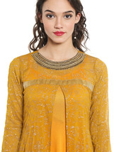 Ira Soleil yellow shrug with visc inner - $49.99