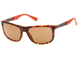 NEW Guess GU 6843 52H Tortoise / Brown Sunglasses - $53.86