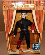 Chris Kirkpatrick 2000 NSYNC Collectible Marionette Doll Living Toyz NIB... - $9.49