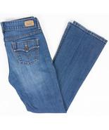 Levis 526 Slender Bootcut Womens Jeans Flap Pockets Medium Wash Size 6 - $26.43