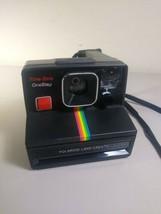 Polaroid Time Zero One Step Plus Land Camera Instant Rainbow Black  - $24.74