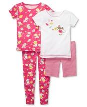 Carters 12 Months 4 Piece Pajamas Set PJ's Fall Autumn 100% Cotton - $14.00