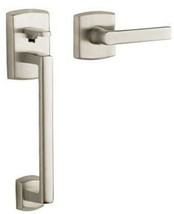 BALDWIN 85386.150.LFD SOHO Brass Door Hardware Entry Satin Nickel(Missin... - $59.99