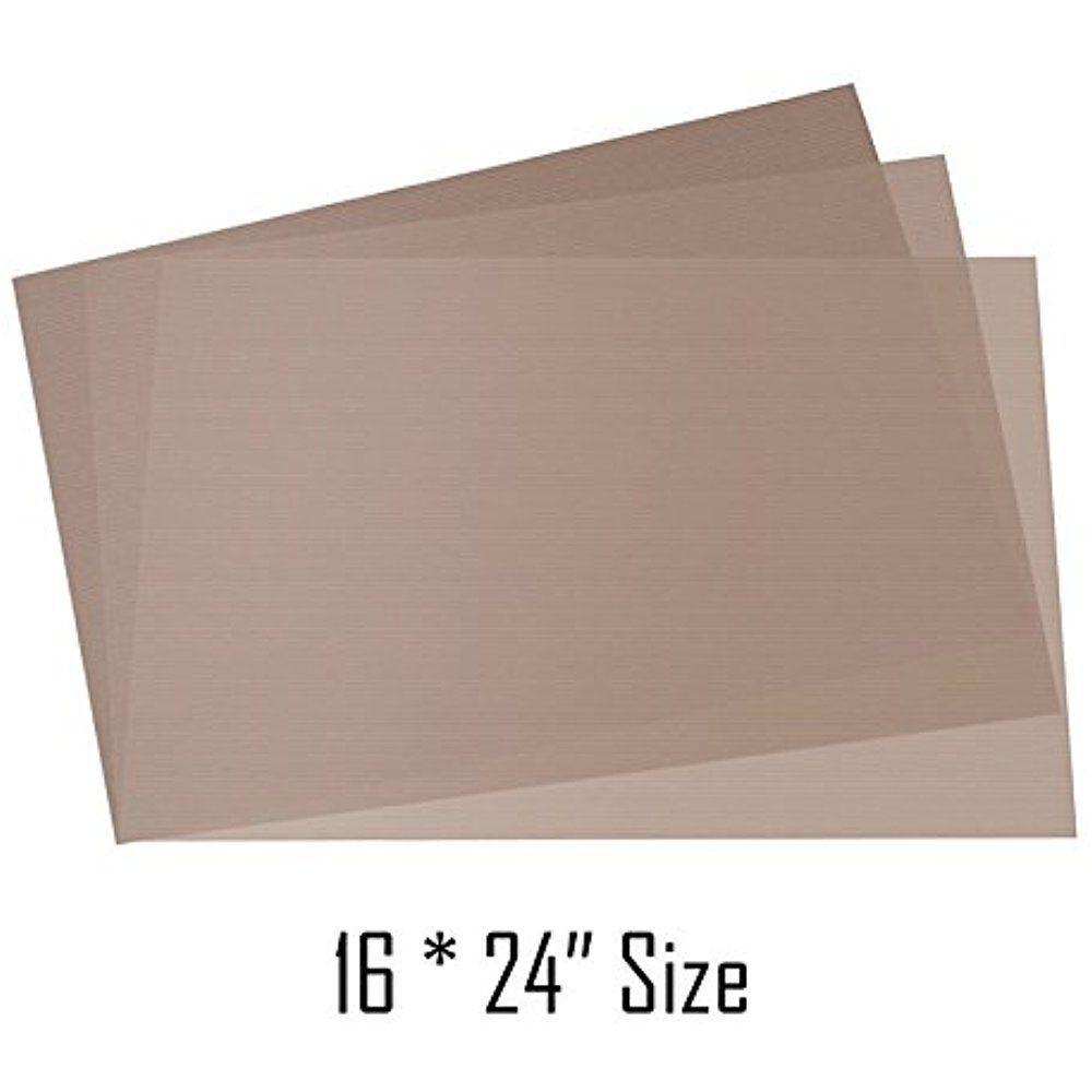 Selizo 6 Pack Teflon Sheet For Heat Press Transfer Shirts Iron Pressing Machine