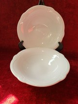 Southern Living Home Gallery White Collection Set of 2 Soup Cereal Bowls - $14.84
