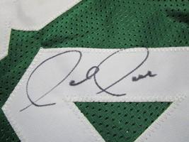 PAUL PIERCE / AUTOGRAPHED BOSTON CELTICS CELTICS CUSTOM BASKETBALL JERSEY / COA image 4