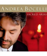 Andrea Bocelli: Sacred Arias by Andrea Bocelli Cd - $9.99