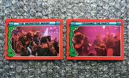 1991 Topps Teenage Mutant Ninja Turtles TMNT II Movie Cards Lot: #78 & #79 - $3.92