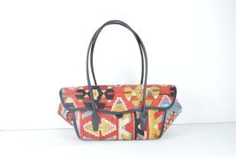 kilim bags,rug bas, wool bags , vintage bag ,kilim & bag , Leather Handbag - $179.00