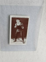 1938 Churchman's Cigarettes Boxing Personalities #22 Jake Kilrain M2 - $4.95
