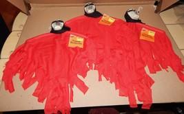"Halloween Decorative Hanging Decoration Ghost Skulls 3ea 15"" x 10"" Bendable 129E - $4.49"