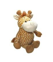 "18"" Plush Giraffe Stuffed Animal Toy Circo Target Brown Jungle Lovey Sits 2010 - $14.52"