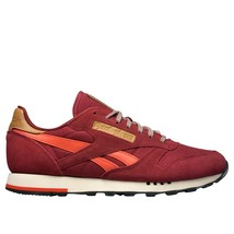 Reebok Shoes Class Nylon Whtlt Grey CL Leather Utility Burgundymotor Red... - $157.00