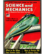 Science and Mechanics Magazine 1953 February - Monorail; Revive Old TV P... - $14.00
