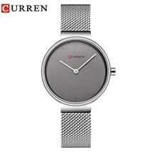 CURREN Wrist Watch Women Watches Luxury Brand Steel Ladies Blue Quartz Women Wat - $38.38