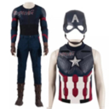 Avengers Endgame Captain America Cosplay Costume - $450.00+