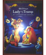 Lady and the Tramp (DVD, 2006, 2-Disc Set, Special Edition) - $10.25