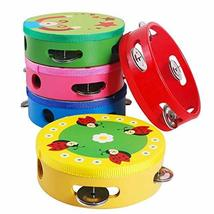 PANDA SUPERSTORE Kids Musical Instruments Toy Tambourine Cute Hand Drum, Baby Bo