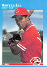 1987 Fleer Glossy #204 Barry Larkin Reds NM-MT  - $10.00