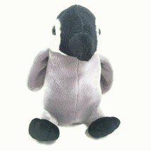 "SeaWorld Baby Penguin 8"" Gray Black Plush Stuffed Toy Doll Ages 3+ Souve... - $14.46"
