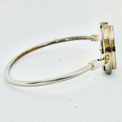 Vintage La Marque Gold Tone Bangle Bracelet Women's 24mm Watch image 4