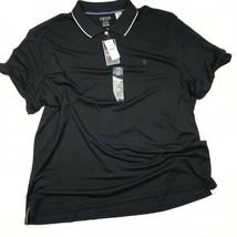 IZOD PERFORMANCE GOLF POLO Size XXXL BLACK and White 3X   - $23.31