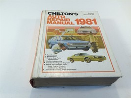 American Cars from 1974 through 1981 Chilton's Auto Repair Manual - HC - $14.99